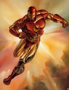 1993 Marvel Masterpieces - Iron Man By Julie Bell, in Ryan Humphreys's Comic Card Art Comic Art Gallery Room Boris Vallejo, Comic Art, Vallejo, Marvel Cards, Artist, Bell Art, Fantastic Art, Marvel Comics Art, Marvel N Dc