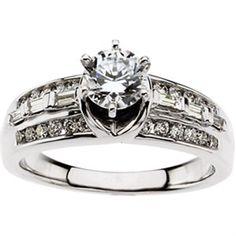1/2 ct tw Cathedral Semi-Set Diamond Engagement Ring Matthew Erickson Jewelers