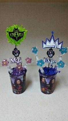 Disney Descendants party decoration