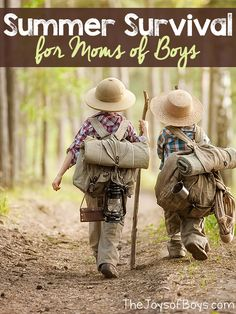 Having boys home all summer can be rough on moms. They need activities to keep them busy. Summer Survival for Moms of Boys shares Crafts, activities, science, travel and more that little boys (and girls) will love.
