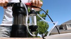 Cool DIY Video : How to build a Homemade Water To Fuel  Generator that uses electricity to convert water into an extremely powerful fuel!