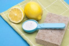 Baking Soda Baking soda serves as an excellent natural alternative to chemical-based household cleansers, scrubs, and deodorizers, and can be used in so many inventive ways from creating DIY deodorant cakes to cleaning a smelly drain. Read on for baking soda cleaning hacks that are ridiculously easy! Sink Scrub Here's a chemical-free way to get grit, dirt, and mildew off of kitchen sinks: Mix lemon juice and baking soda until you have a paste, then scrub with a sponge.