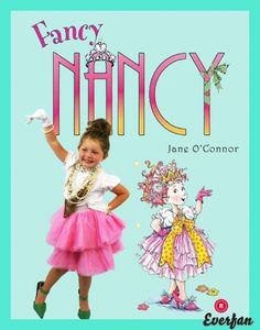 Fancy nancy costume idea halloween pinterest fancy nancy fancy nancy halloween costume homemade diya bookish halloween solutioingenieria