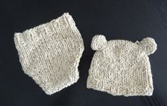 Set hat and diaper cover / Newborn Diaper Cover / by Ifonka, $27.00