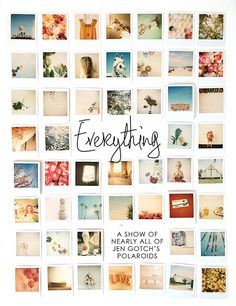 jen gotch's EVERYTHING art show!