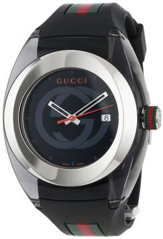 Gucci SYNC XXL YA137101 Watch for $495.00 I wanted to get this for a nephew but he needs to grow up a lil more I think