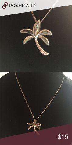Abalone shell palm tree necklace Abalone shell palm tree necklace Jewelry Necklaces