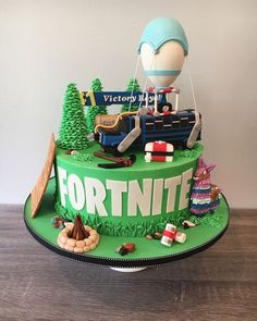 Best representation descriptions: Fortnite Birthday Cake Ideas Related searches: Fortnite Birthday Cakes,Fortnite Cake Locations,Fortnite C. 10 Birthday Cake, 9th Birthday Parties, 12th Birthday, Teenage Boy Birthday, Birthday Ideas, Bus Cake, Cake Images, Cakes For Boys, Party Cakes