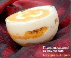 Tiramisu au caramel beurre salé et au sablés bretons