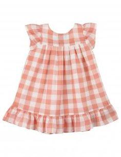Vichy children dress~