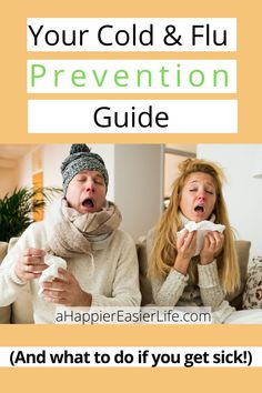 Cold and Flu season is here! Don't worry, I've got you covered with this simple cold and flu prevention guide to help you stay one step ahead of the germs! Flue Remedies, Home Remedies For Acne, Cold Remedies, Health Remedies, Natural Remedies, Health Tips, Health And Wellness, Cold And Flu Relief, Flu Prevention