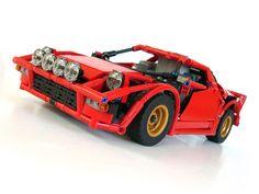 Lancia Stratos by Lego