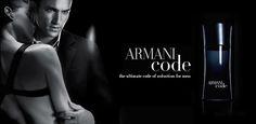 Armani Code, always a winner.