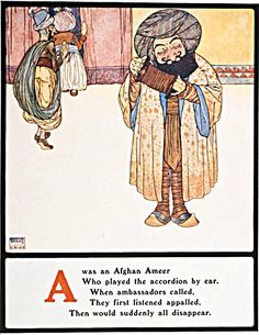 Edmund Dulac - Illustrations from Lyrics Pathetic & Humorous from A to Z 1908 Oriental, Edmund Dulac, Children's Book Illustration, Book Illustrations, Nursery Rhymes, Golden Age, Vintage Posters, Art Reference, Childrens Books