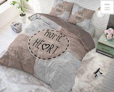 Dreamhouse Hoeslaken Knitted Home Heart Taupe - Gratis bezorgen & retour! Modern Sheets, Model Homes, Taupe, Throw Pillows, Painting, Shopping, Design, Heart, Website