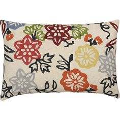 Vintage Garden pillow by Crate and Barrel- perfect for the porch?