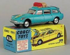 Resultado de imagem para corgi toys 60'