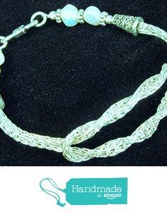Silver Celtic Infinity Knot Viking Knit Bracelet from Art by JenniferLove http://www.amazon.com/dp/B015X7CPUC/ref=hnd_sw_r_pi_dp_hJ.Awb0WBXQA9 #handmadeatamazon