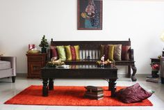 india-inspired living room