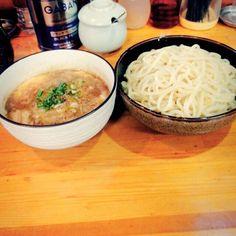 幸福亭 初めてで何が美味しいのかわからなかったけど和風濃厚つけ麺食べた 意外に美味しかった #幸福亭 #つけ麺 by takuya.0711