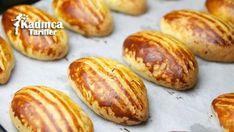 Dereotlu Pastane Poğaçası Tarifi | Kadınca Tarifler | Kolay ve Nefis Yemek Tarifleri Sitesi - Oktay Usta Baked Potato, Food And Drink, Pizza, Bread, Cookies, Ethnic Recipes, Kitchens, Turkish Recipes, Bakken