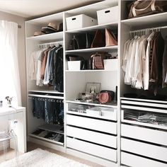"""166 Likes, 4 Comments - LookMazing (@lookmazing) on Instagram: """"Closet organization on point : @crystalinmarie"""""""