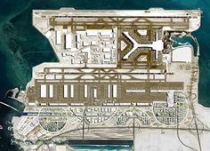 OMA chosen to masterplan airport city for HIA airport in qatar