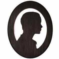 Wood Stained Silhouette