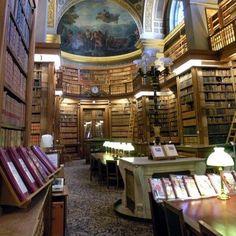 Bibliothèque de l'Assemblée Nationale, Palais Bourbon, Paris