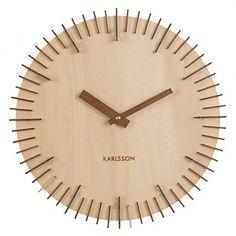 Light Wood Jackson Wall Clock