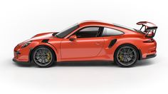 911 GT3 RS on Behance