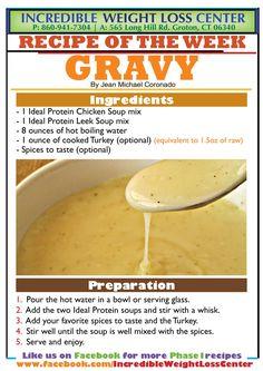 Ideal Protein Gravy