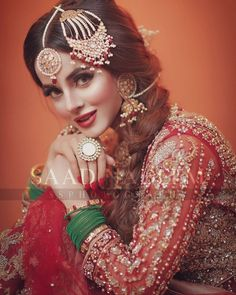 The Effective Pictures We Offer You About Bridal Outfit gowns A quality picture can tell you many things. You can find the most beautiful pictures that can be presented to you about Bridal Outfit stre Bridal Dress Design, Bridal Style, Bridle Dress, Pakistani Bridal Makeup, Pakistani Couture, Beautiful Bridal Dresses, Bridal Photoshoot, Bridal Pictures, Wedding Wear