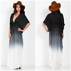 """X """"Horizon"""" Maxi Ombre Dress Long ombré maxi dress. Brand new. True to size. NO TRADES. Price firm Bare Anthology Dresses"""