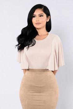 Shoulder Shrug Bodysuit - Coco