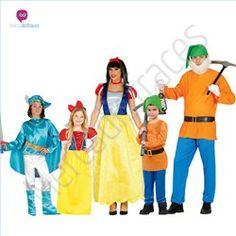 #Disfraces divertidos de #Blancanieves para grupos #Mercadisfraces tu #tienda de #disfraces online donde podrás comprar tus disfraces #baratos y #originales para tus fiestas de #carnaval y #halloween. Amplio stock en tallas para #grupos y #comparsas.