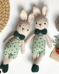 Mesmerizing Crochet an Amigurumi Rabbit Ideas. Lovely Crochet an Amigurumi Rabbit Ideas. Bunny Crochet, Crochet Amigurumi, Amigurumi Doll, Crochet Animals, Amigurumi Patterns, Crochet Dolls, Knit Crochet, Crochet Patterns, Crochet Monkey