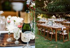 bistro wedding receptions - photo by Majesta Patterson http://ruffledblog.com/a-sophisticated-food-truck-wedding