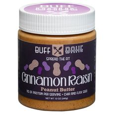 Each 340g jar of this delicious peanut butter is fortified with all natural whey protein so you're guaranteed 11g of protein per 2 tablespoons, plus: