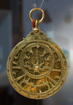 Astrolabe- Turkey, 1686-87  Museum of the Institute of the arab world