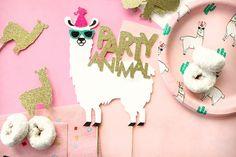 Llama Happy Birthday Cake Topper, Llama Party, Birthday Cake Topper, Custom Cake Topper, Party Anima - New Deko Sites Llama Birthday, Teen Birthday, Animal Birthday, Special Birthday, Husband Birthday, Party Animals, Animal Party, Birthday Decorations, Birthday Party Themes