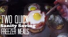 Two Quick Sanity Saving Freezer Meals for Families on the Go