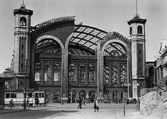 Berlin 1946 Stettiner Bahnhof