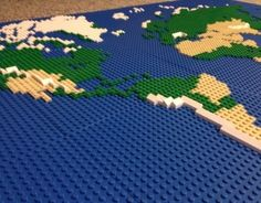 Chantal de fretes cadefretes on pinterest check out this behance project lego world map https gumiabroncs Choice Image