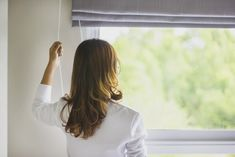 You should feel comfortable to be who you are inside your home. Improving your home's privacy, whether through a tinted window or by installing a fence, can help you feel better about your privacy. Outdoor Curtains, Curtains With Blinds, Two Story Windows, Enclosed Patio, Spruce Tree, Improve Yourself, Make It Yourself, Your Neighbors, Do You Work