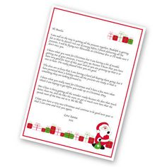 Kids of all ages will love this personalised letter all the way from the North Pole! The letter is from Santa himself and lets the child know about how hard the elves are working to ensure all the Christmas preparations are ready and that the chil. Christmas Letter From Santa, Santa Letter, Christmas Makes, Christmas Gifts, Christmas Eve, Personalized Letters From Santa, Personalized Gifts, Unique Gifts, Best Gifts