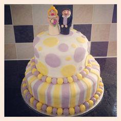 Friends wedding cake