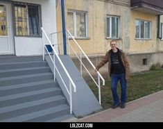 Finished the wheelchair ramp, boss.#funny #lol #lolzcat