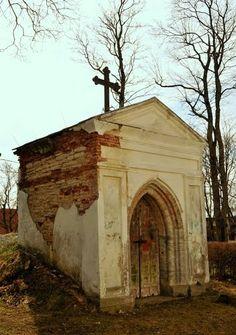 Von Glasenapp chapel. Keila church, Estonia