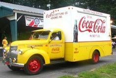 '40's Coca Cola delivery truck